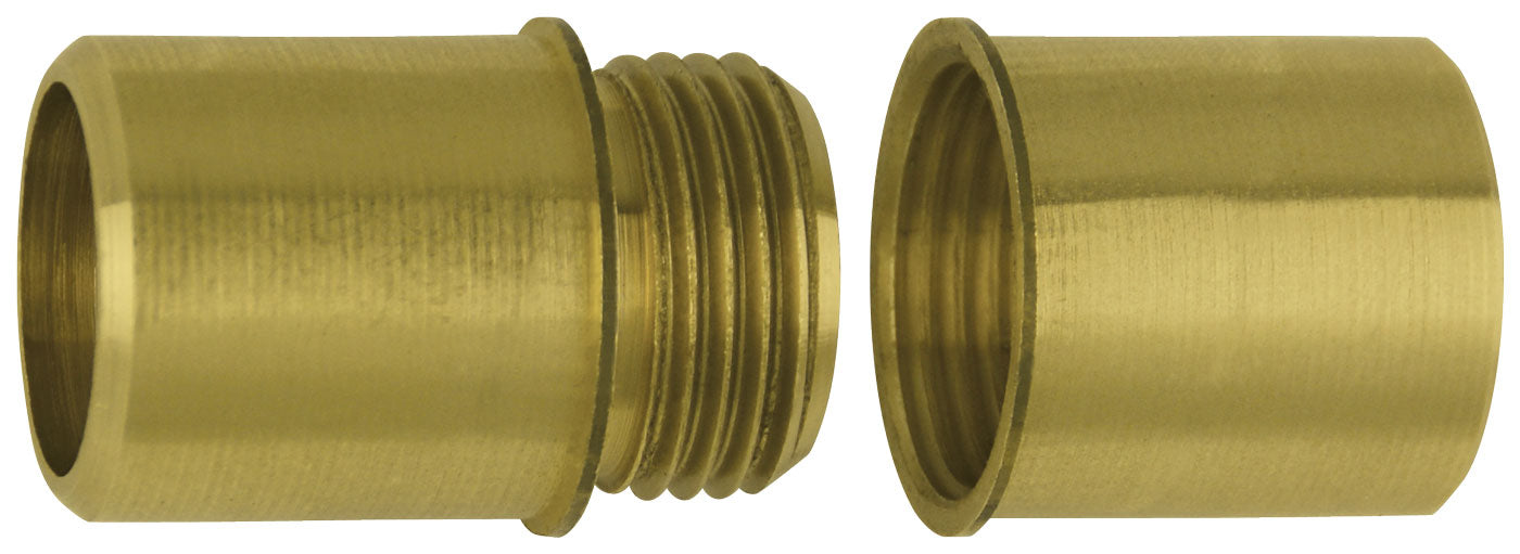 Brass Screw Joint for Aluminum Flagpole - Flagman of America
