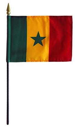 Mini Senegal Flag for sale