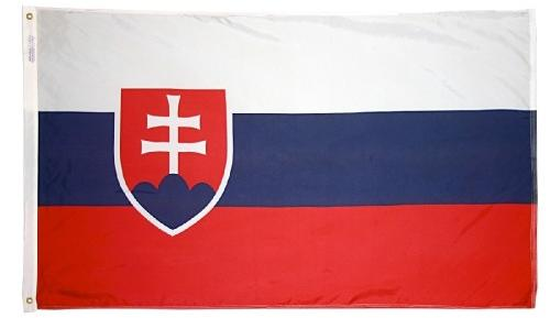 Slovakia Republic outdoor flag for sale