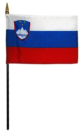Mini Slovenia Flag for sale
