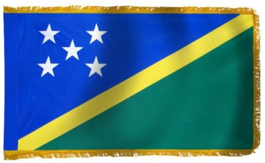 Solomon Islands Indoor Flag for sale