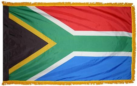 South Africa Indoor Flag for sale