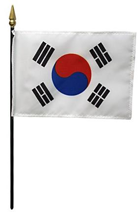 Mini South Korea Flag for sale