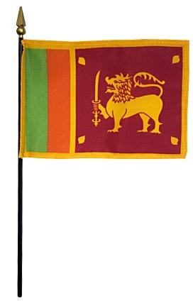 Mini Sri Lanka Flag for sale