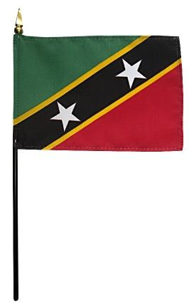 Mini St. Kitts & Nevis Flag for sale