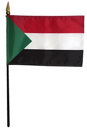 Mini Sudan Flag for sale