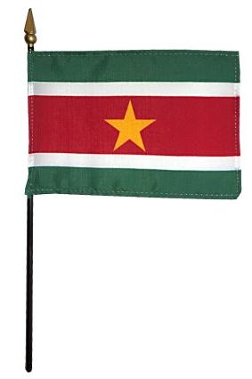 Mini Suriname Flag for sale