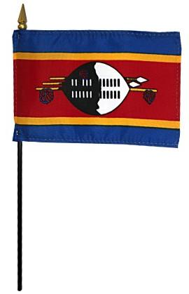 Mini Swaziland Flag for sale