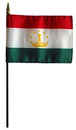 Mini Tajikistan Flag for sale