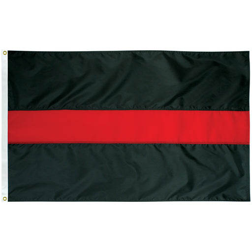 thin red line outdoor flag for sale - made in usa - flagman of america