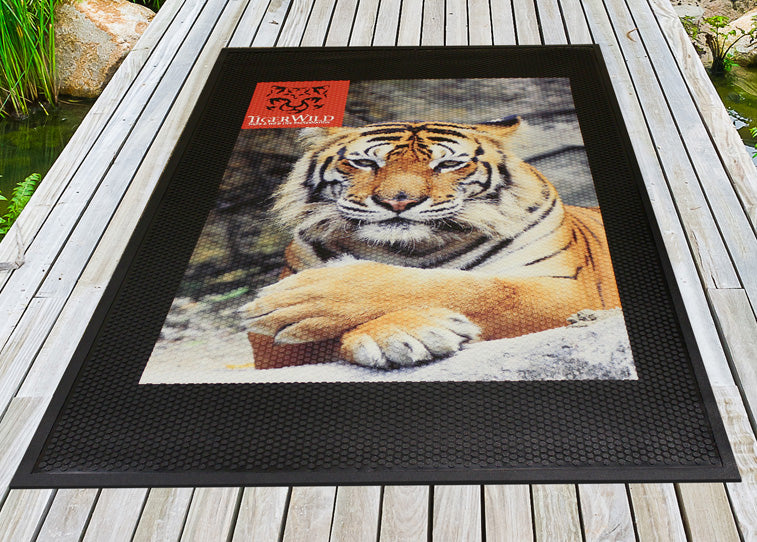 Superscrape Photographic Quality Heavy Duty Outdoor Logo Mat