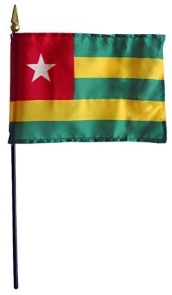 Mini Togo Flag for sale