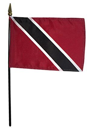 Mini Trinidad & Tobago Flag for sale