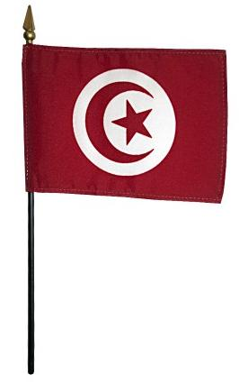 Mini Tunisia Flag for sale
