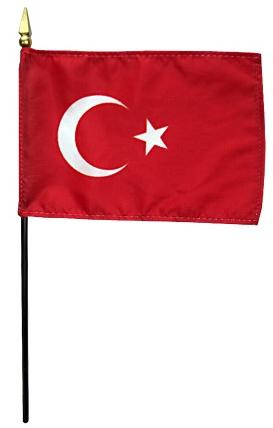 Mini Turkey Flag for sale