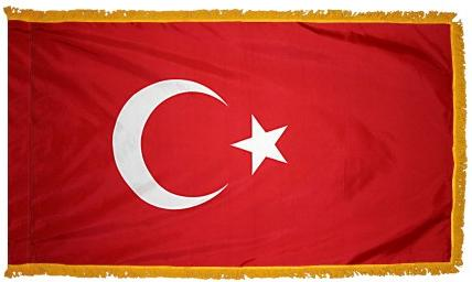 Turkey Indoor Flag for sale