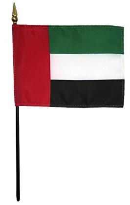 Mini United Arab of Emirates Flag for sale