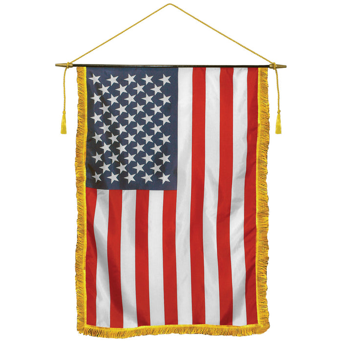 US classroom flag american classroom flag with fringe