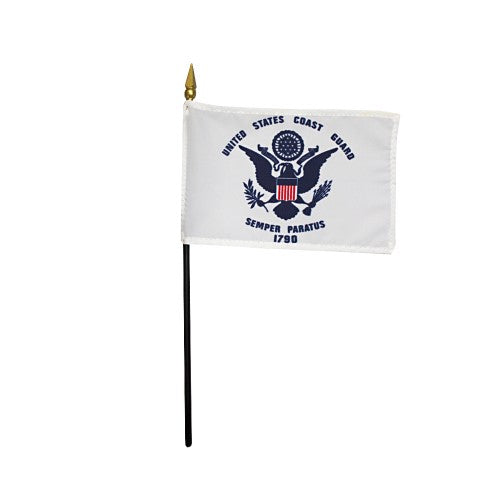 mini coast guard flag for sale - made in usa - flagman of america