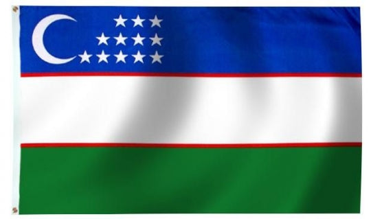 Uzbekistan outdoor flag for sale