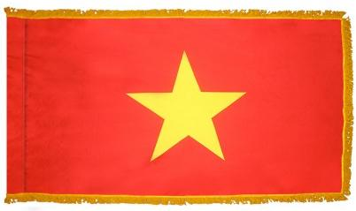 Vietnam Indoor Flag for sale