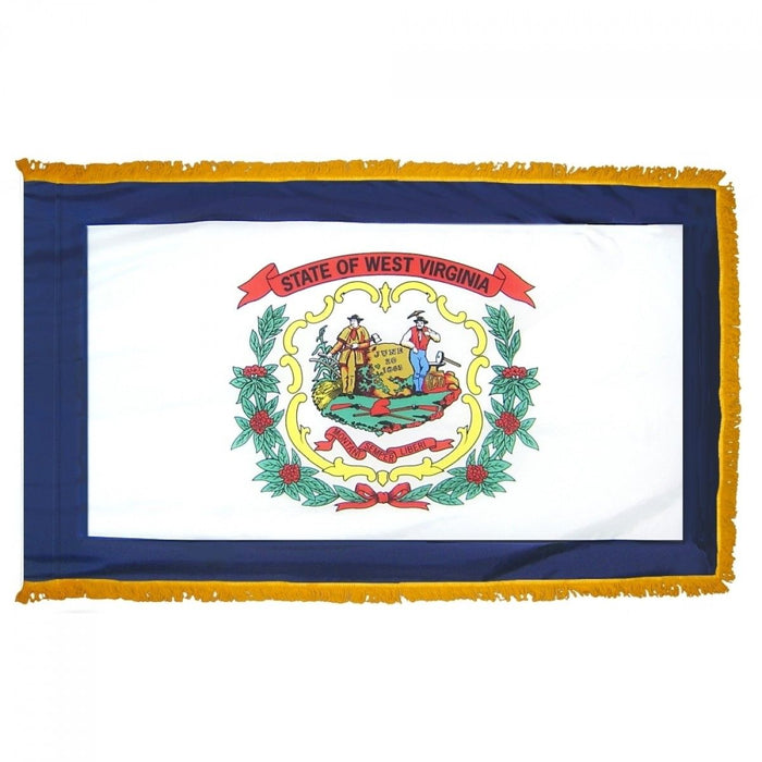 West Virginia Indoor / Parade Flag