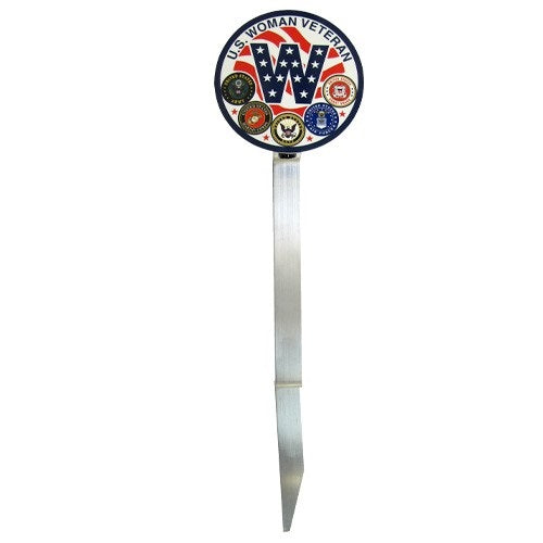 Woman Veteran Grave Marker | Made in USA