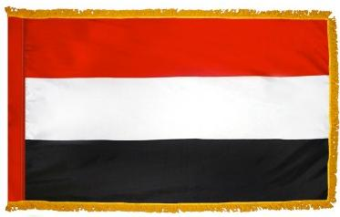 Yemen Indoor Flag for sale