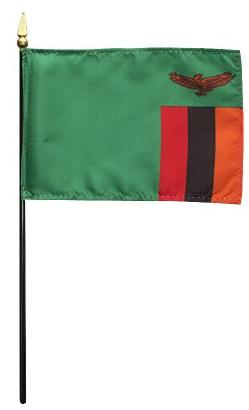 Mini Zambia Flag for sale