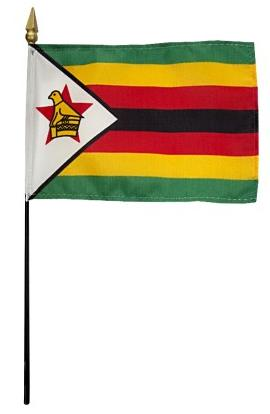 Mini Zimbabwe Flag for sale