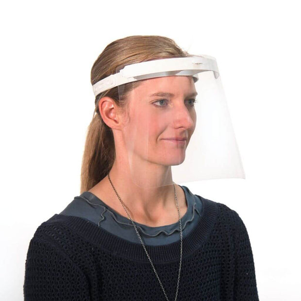 replacement visor woman wearing