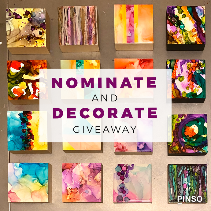 Nominate / Decorate Instagram Giveaway