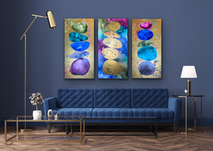 (SOLD) Cairns Jewel Triptych
