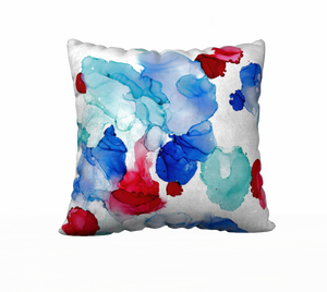 """After the Dust Settles"" Throw Pillow"