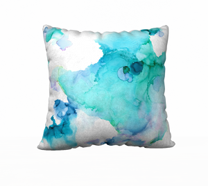 """Ethereal"" 18"" x 18"" Throw Pillow"