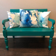 """Blue Abyss"" 22"" x 22"" Pillow - 50% OFF + Free Shipping"