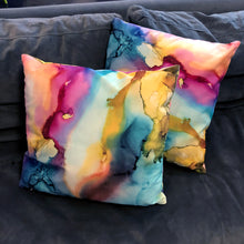 """Happy Place"" 18"" x 18"" Throw Pillow - 50% OFF + Free Shipping"