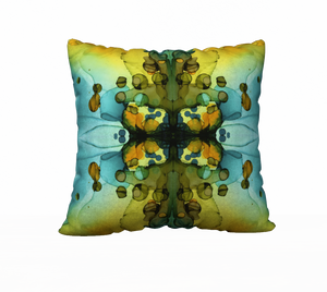 """Kaleidoscope II"" Throw Pillow"