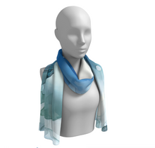 "Scarf in ""Blue Abyss"""