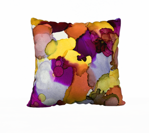 """Sparks"" Throw Pillow"