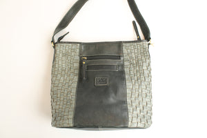 Grand Sac Vintage - Cuir Fait Main - Local