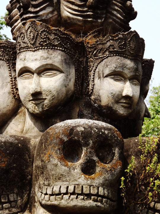 Photograph - Carved Heads