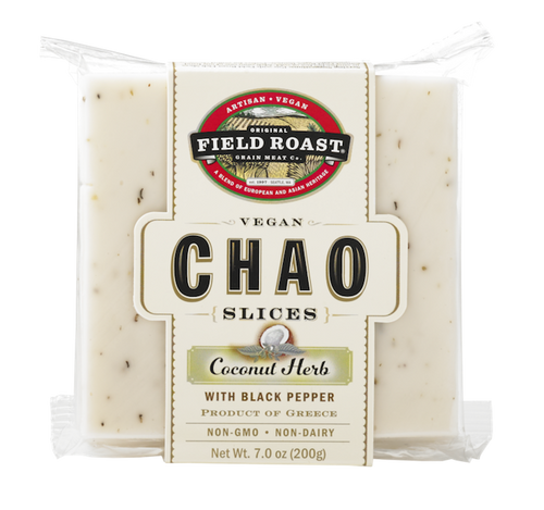 Chao Creamery Coconut Herb Slices (cheese)