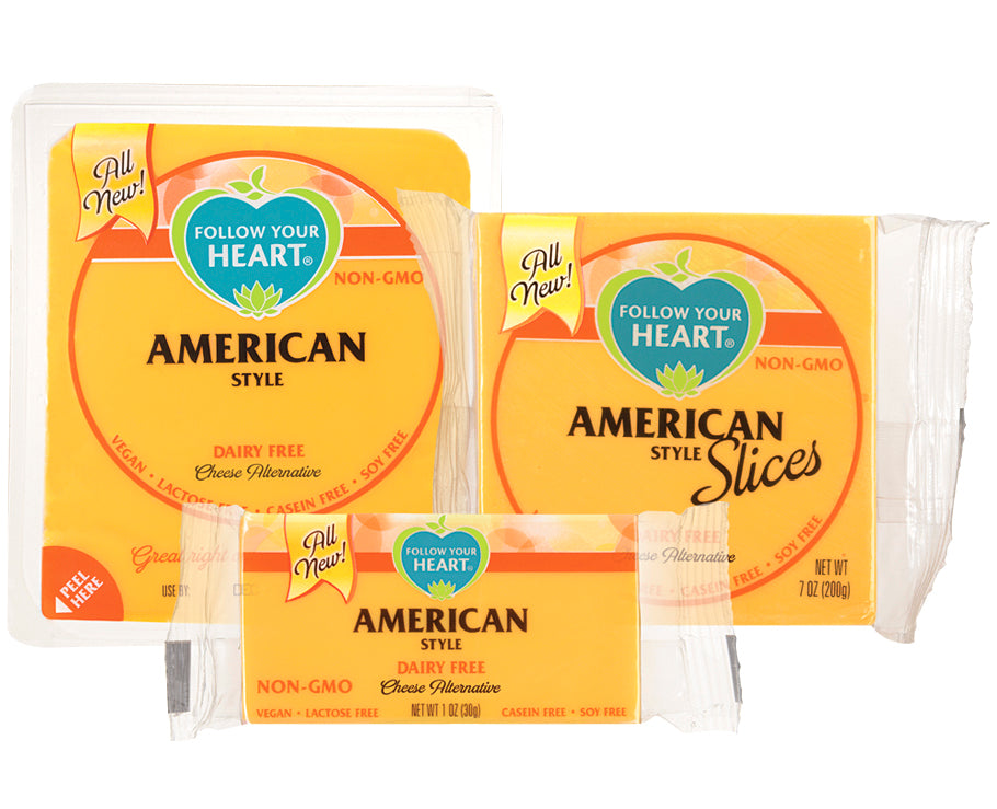 Follow Your Heart American vegan cheese