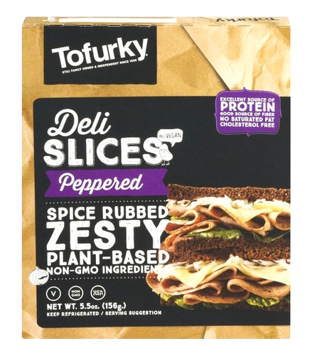 Tofurky Deli Slices - Peppered
