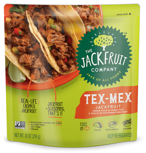 The Jackfruit Company TEX MEX Jackfruit