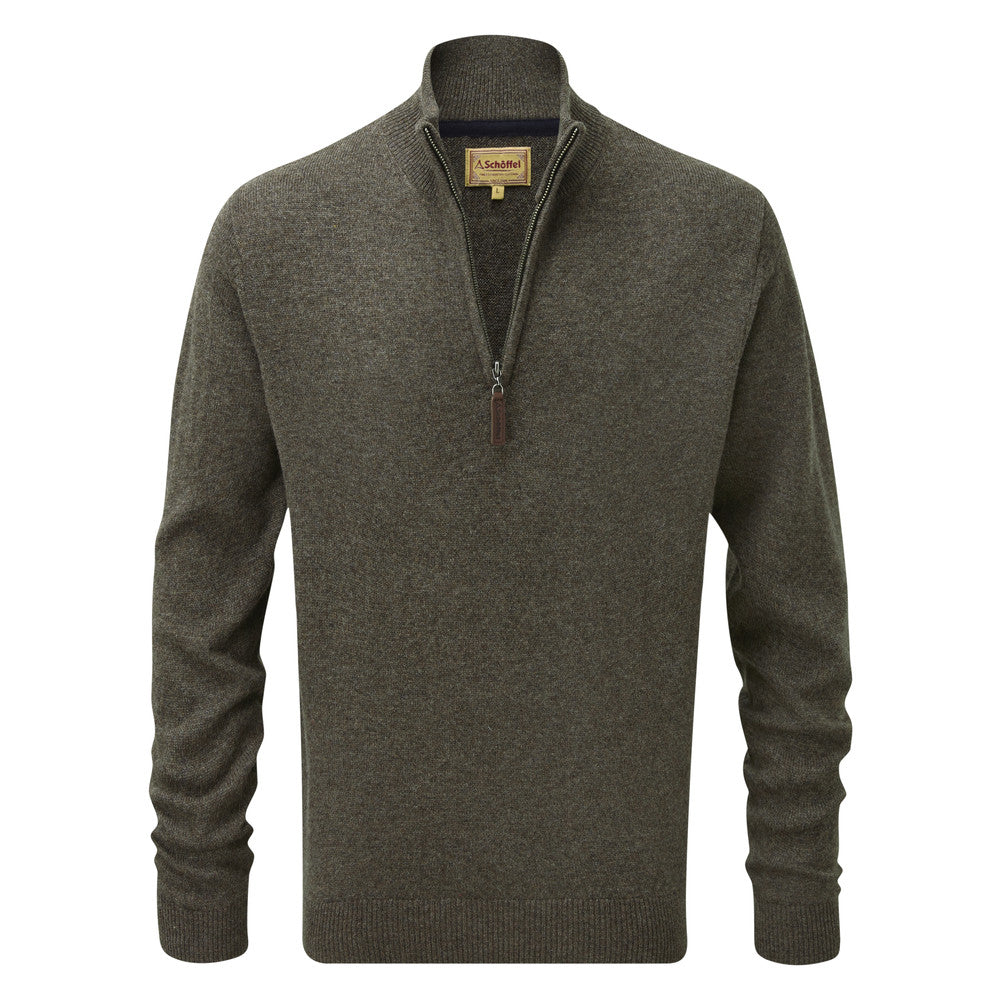 Schoffel Lambswool 1/4 Zip Jumper