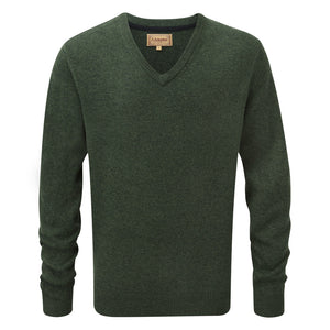Schoffel Lambswool V Neck Jumper