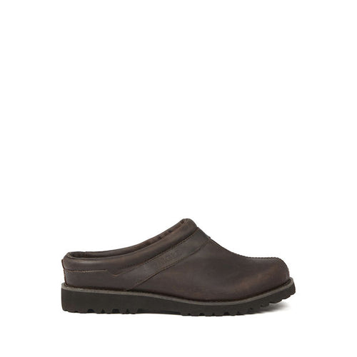 Aigle Guiren Leather Gardening Clogs