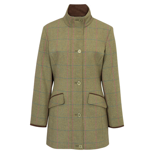 Alan Paine Women's Combrook Waterproof Tweed Jacket